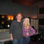 "At Bomb Shelter Studios recording ""Hell on Heels"""
