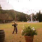 At the Calamigos Ranch!