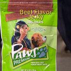 Beef-Flavored Jerky Dog Treats