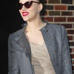 """Celebrity Arrivals At """"Late Show With David Letterman"""""""