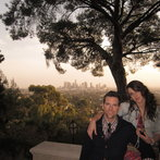 Chris + Lindsay + LA sunsets