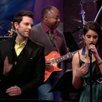 Chris + Lindsey sing on Jay Leno