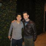 Chris Mann + Jonathas chillin'