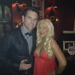 Christina Aguilera + Chris Mann