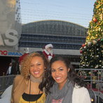 Family friend, Honey, and I at City Walk