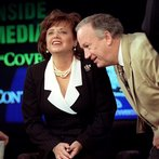 John (R) and Patsy Ramsey, whose daughter JonBenet
