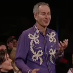 John McEnroe during the Andy Roddick monologue