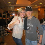 Jordan with Gwen at wardrobe :)