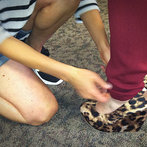 LOVED These Cheetah Print Wedges