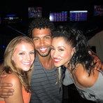Laura Vivas with Jordan Pruitt and Aquile