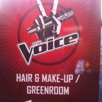 Hair/Makeup sign
