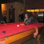 Me Playing Pool at the Recording Studio