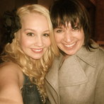 Me with Valerie, the talent manager