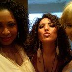 Me, Katrina Parker & Monique Benabou Posing for the Camera