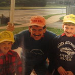 My father , my brother, and me 1991 lol