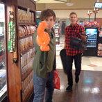 O and Nathan... swashbuckling?... Haha