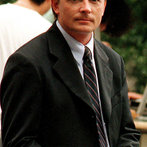 """""""Spin City"""" Michael J Fox Filming NYC - Butler/Online"""