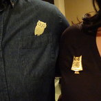 Owl Pins! Hoot!