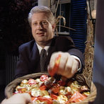 Pres. Clinton Getting Candy