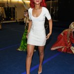 Rihanna Backstage At KA by Cirque du Soleil