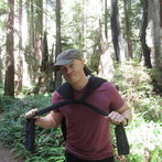 Shawn in the Redwoods