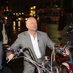 "Sylvester Stallon, Bruce Willis and the Teutuls Visit ""Late Show with David Letterman"" - January 17, 2008"
