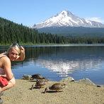 Tash Feeds The Ducks