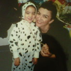 me and my momma on halloween!