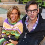 with my mom in LA !!!