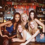 Members Of The Cast Of The New Movie Coyote Ugly Which Is To Open August 2000 Clockwi