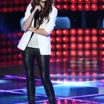 "THE VOICE -- ""Blind Auditions"" Episode 601 -- Pictured: Christina Grimmie -- (Photo by: Tyler Golden/NBC)"