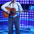 "THE VOICE -- ""Blind Auditions"" Episode 601 -- Pictured: Jake Worthington -- (Photo by: Tyler Golden/NBC)"