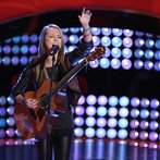 """THE VOICE -- """"Blind Auditions"""" Episode 601 -- Pictured: Bria Kelly -- (Photo by: Tyler Golden/NBC)"""
