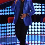 """THE VOICE -- """"Blind Auditions"""" Episode 601 -- Pictured: T.J. Wilkins -- (Photo by: Tyler Golden/NBC)"""
