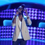 """THE VOICE -- """"Blind Auditions"""" Episode 602 -- Pictured: Delvin Choice -- (Photo by: Tyler Golden/NBC)"""