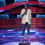 "THE VOICE -- ""Blind Auditions"" Episode 602 -- Pictured: Delvin Choice -- (Photo by: Tyler Golden/NBC)"
