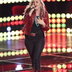 """THE VOICE -- """"Blind Auditions"""" Episode 602 -- Pictured: Cary Laine -- (Photo by: Tyler Golden/NBC)"""