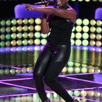 """THE VOICE -- """"Blind Auditions"""" Episode 603 -- Pictured: Sisaundra Lewis -- (Photo by: Tyler Golden/NBC)"""