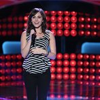 """THE VOICE -- """"Blind Auditions"""" Episode 603 -- Pictured: Lindsay Pagano -- (Photo by: Tyler Golden/NBC)"""