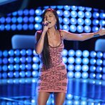 """THE VOICE -- """"Blind Auditions"""" Episode 603 -- Pictured: Melissa Jimenez -- (Photo by: Tyler Golden/NBC)"""