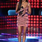"THE VOICE -- ""Blind Auditions"" Episode 603 -- Pictured: Melissa Jimenez -- (Photo by: Tyler Golden/NBC)"