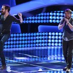 """THE VOICE -- """"Blind Auditions"""" Episode 603 -- Pictured: (l-r) Coty Walker and Clinton Walker of Brothers Walker -- (Photo by: Tyler Golden/NBC)"""