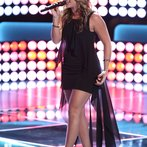 "THE VOICE -- ""Blind Auditions"" Episode 603 -- Pictured: Clarissa Serna -- (Photo by: Tyler Golden/NBC)"