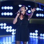 """THE VOICE -- """"Blind Auditions"""" Episode 604 -- Pictured: Emily B -- (Photo by: Tyler Golden/NBC)"""