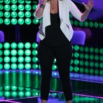 "THE VOICE -- ""Blind Auditions"" Episode 604 -- Pictured: Dani Moz -- (Photo by: Tyler Golden/NBC)"
