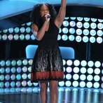 """THE VOICE -- """"Blind Auditions"""" Episode 604 -- Pictured: Musicbox / Ayesha Brooks -- (Photo by: Tyler Golden/NBC)"""