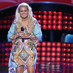 "THE VOICE -- ""Blind Auditions"" Episode 605 -- Pictured: Cali Tucker -- (Photo by: Tyler Golden/NBC)"