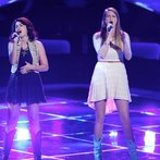 """THE VOICE -- """"Blind Auditions"""" Episode 605 -- Pictured: (l-r) Alaska Holloway, Madi Metcalf -- (Photo by: Tyler Golden/NBC)"""