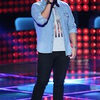 """THE VOICE -- """"Blind Auditions"""" Episode 605 -- Pictured: Austin Ellis -- (Photo by: Tyler Golden/NBC)"""