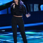 """THE VOICE -- """"Blind Auditions"""" Episode 605 -- Pictured: Paula Deanda -- (Photo by: Tyler Golden/NBC)"""